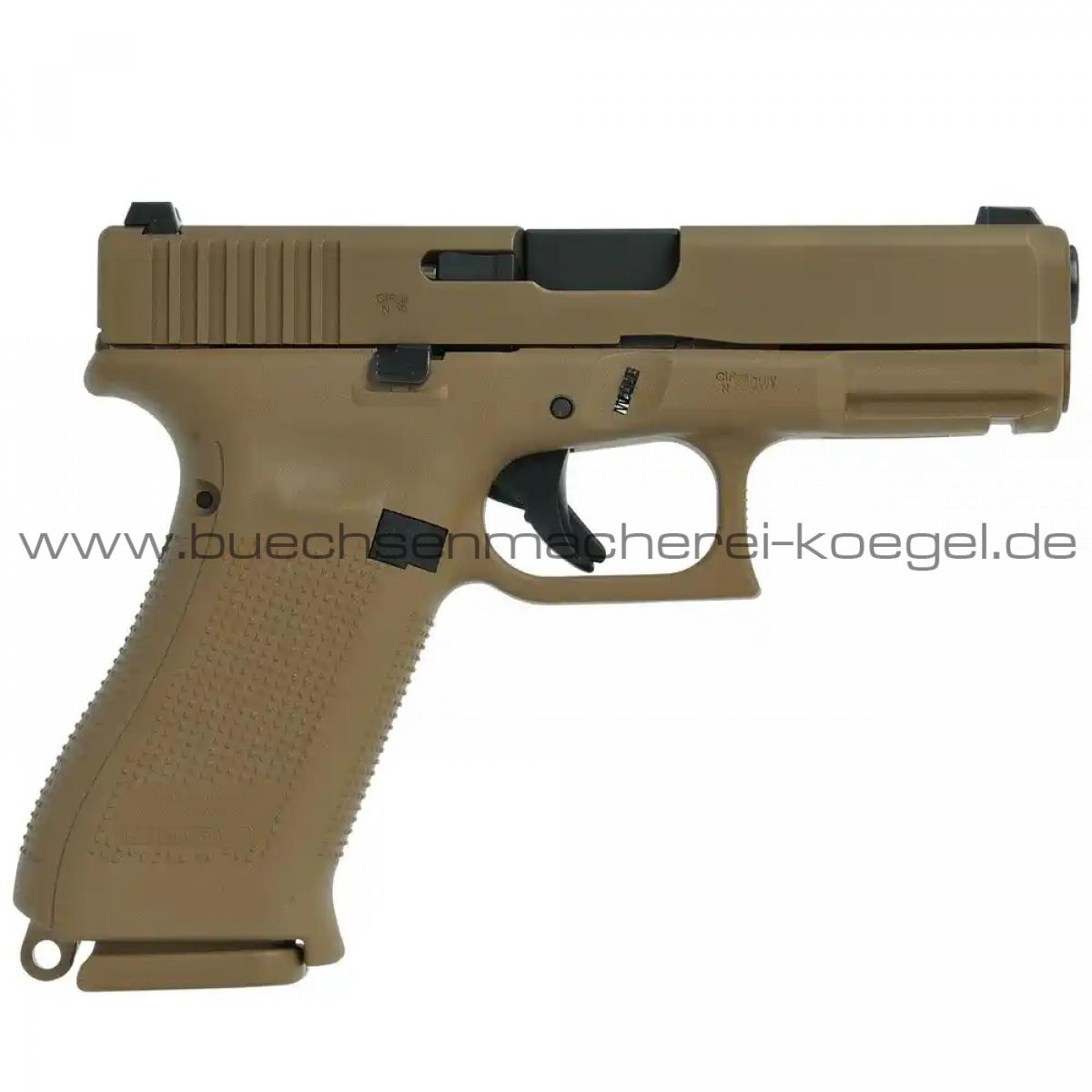 GH Pistole Glock 19 X sandfarben