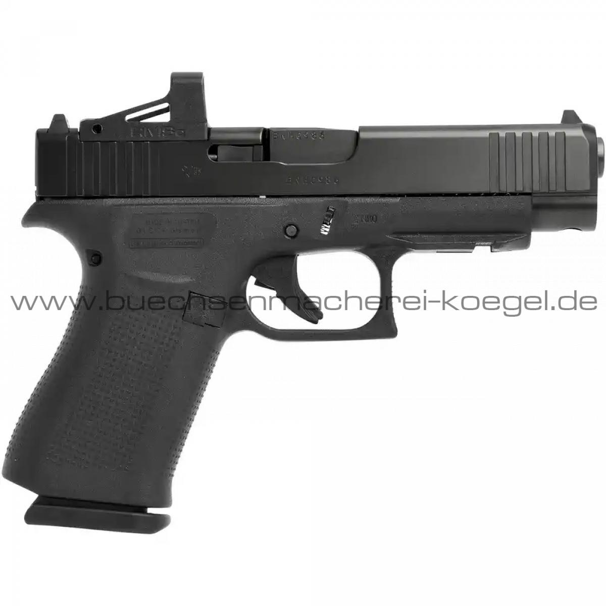 Glock 48 X MOS mit montiertem RMSc Shield Red Dot