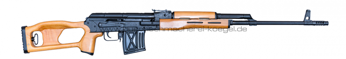 Cugir Salutbüchse SSG97, 7,62x54R auf 8mm Knall