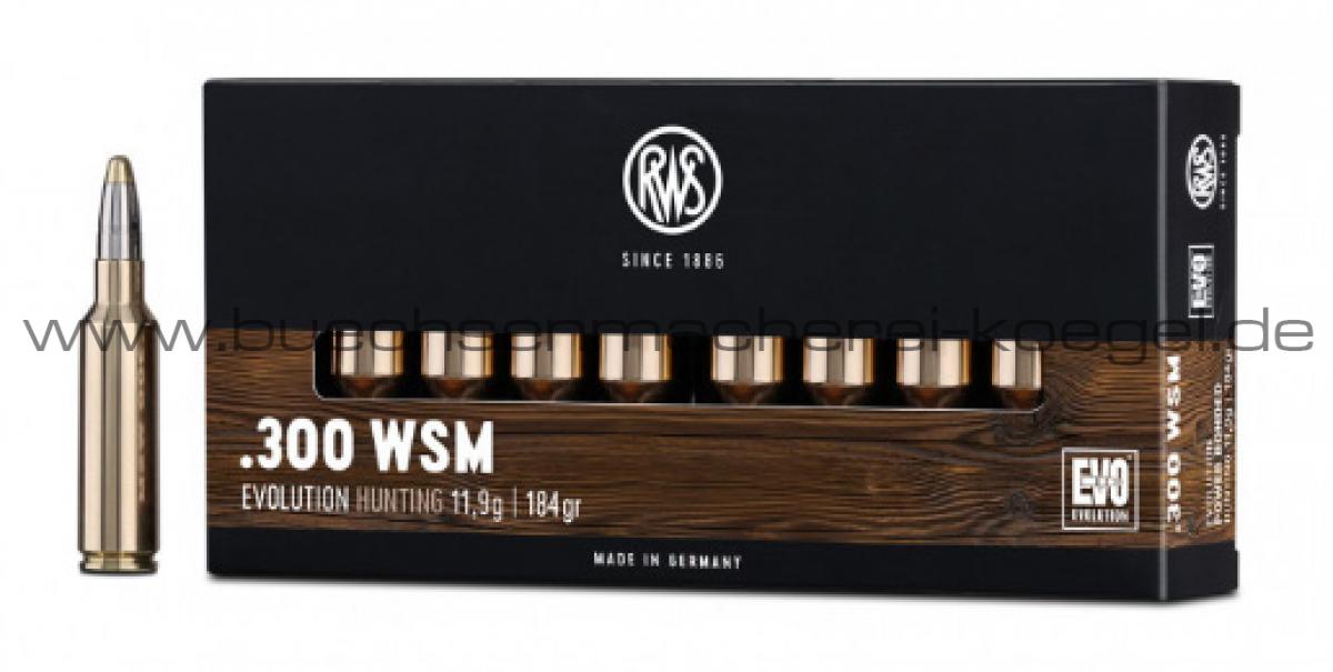 RWS 300 WSM EVO 11,9 Gramm