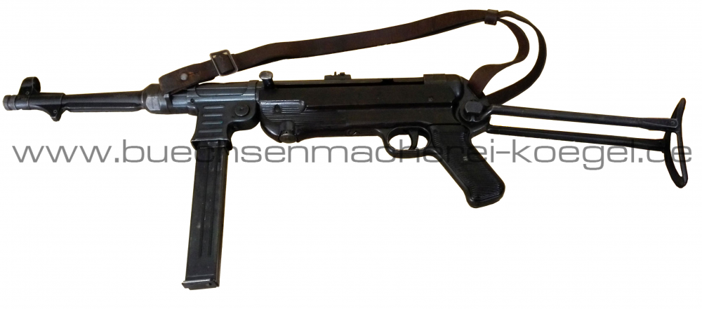 Salut Halbauto MP40 Steyr Fertigung