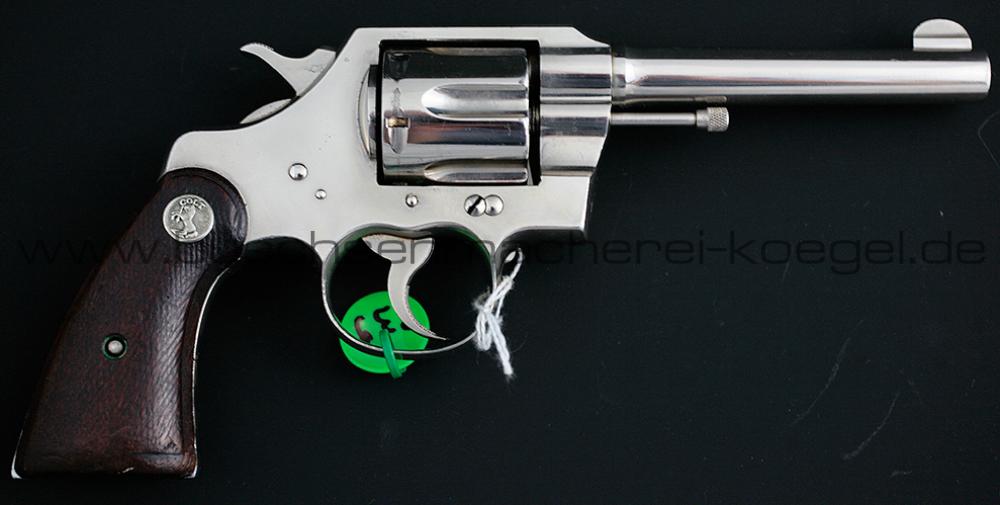 Colt Army ,38 Special Revolver Detroit Police