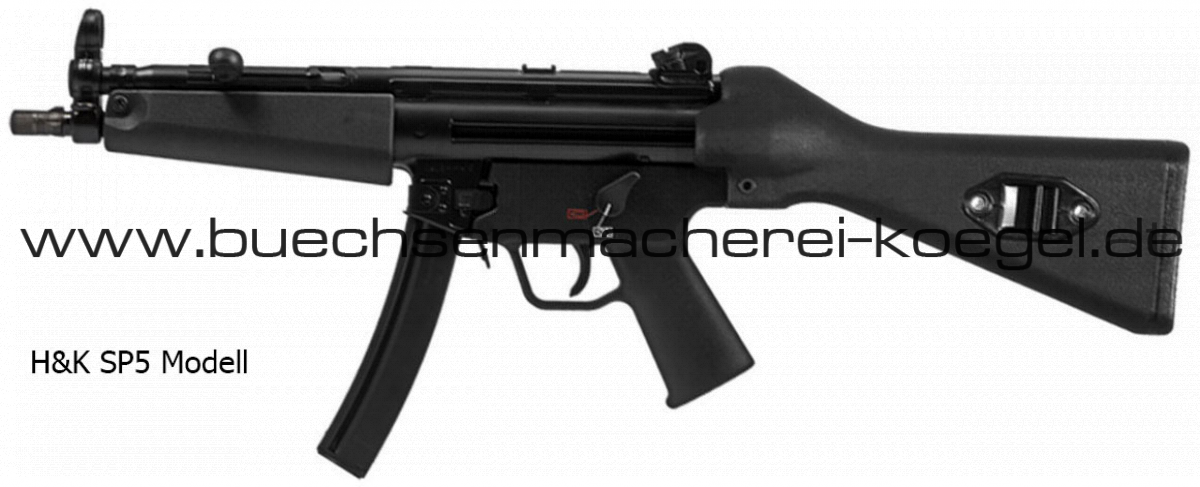 MKE T94 Büchse wie MP5 mit Festschaft