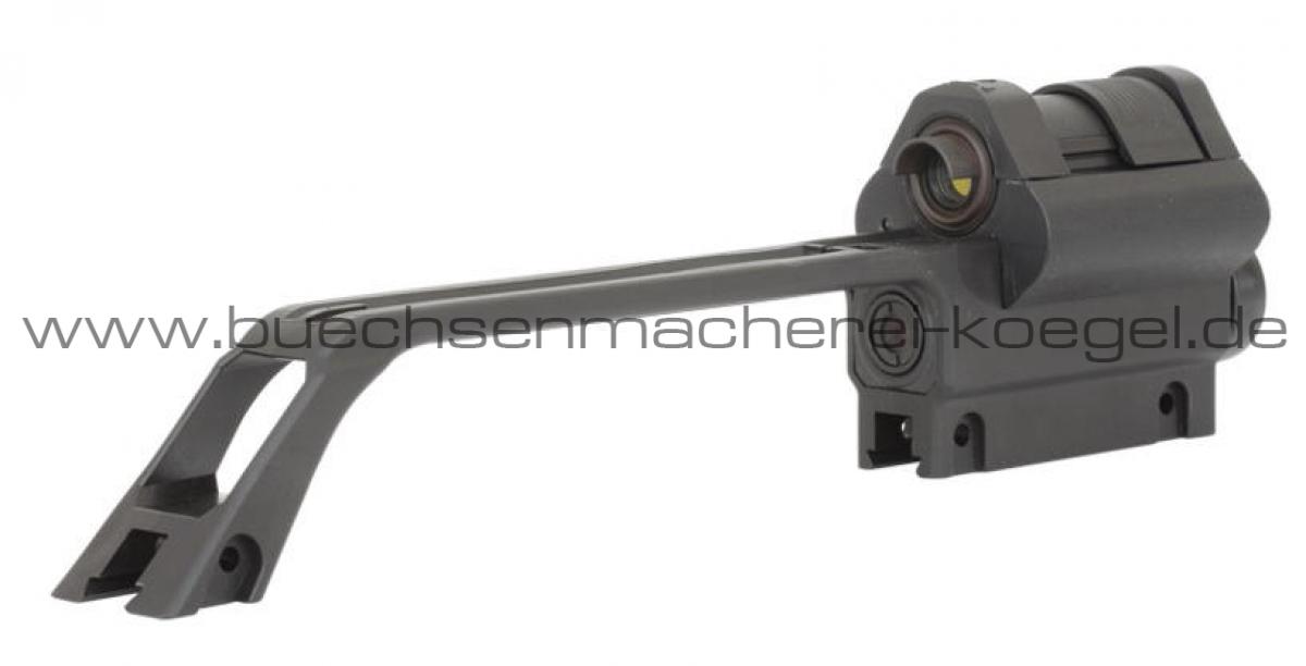 Tragebügel mit 3-fach Optik u. Reflexvisier f. HK243/SL8